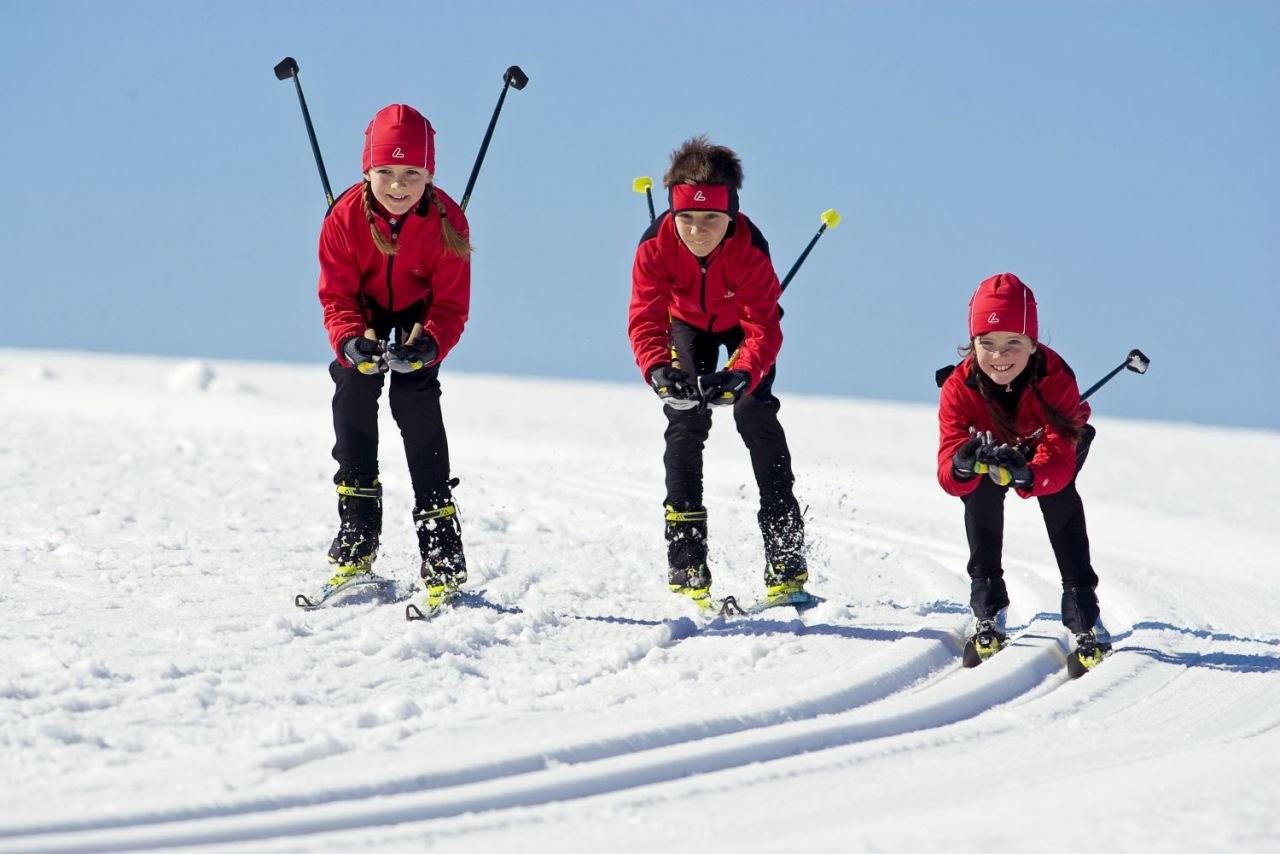 юный лыжник картинки это